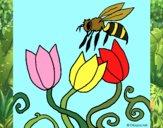 Desenho Abelha pintado por Craudia
