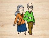Desenho Dos avós pintado por anaCFAIAL