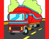 Camião cisterna