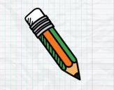 Desenho Lápis HB pintado por Craudia