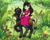 Princesa e corcel