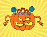 Doces do Halloween