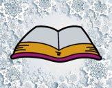 Desenho Um livro aberto pintado por Polly_Leti