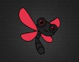 Desenho Una libélula pintado por ceciliaz