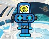 Robô com luz