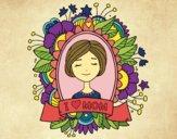 Desenho Homenagem a todas as mães pintado por Fernanda21