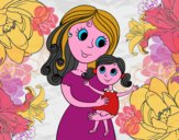 Mãe com sua filha