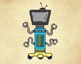 Robô mecânico