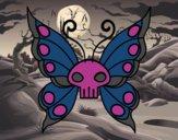 Desenho Borboleta Emo pintado por isalu