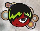 Desenho Emoticon Emo pintado por m28castro
