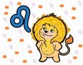 Desenho Horóscopo Leão  pintado por m28castro