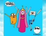 Jake, Princesa Bubblegum e Finn