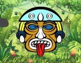 Máscara asteca