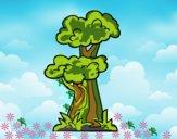 Desenho Árvore japonesa pintado por m28castro
