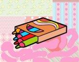 Desenho Crayons pintado por m28castro