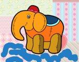 Desenho Elefante de pano pintado por m28castro