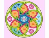Desenho Mandala 11 pintado por Craudia