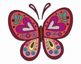Mandala borboleta