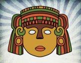 Desenho O máscara mexicana pintado por Craudia