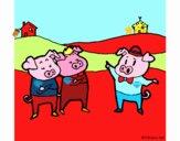 Os três porquinhos 5