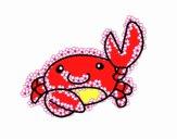 Acuarel o carangueijo