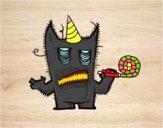 Monstro comemora seu aniversário
