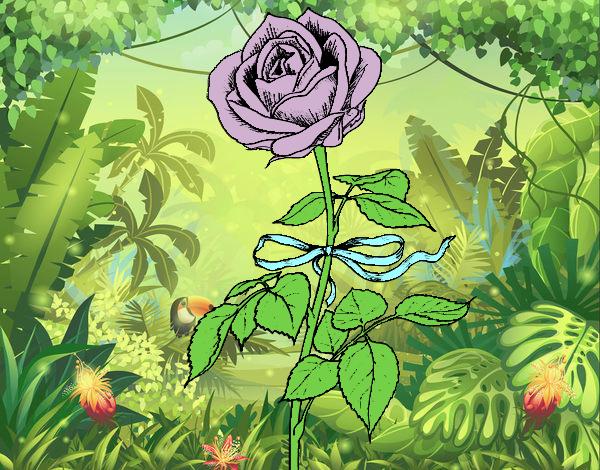 Desenho Uma rosa pintado por Bianca99