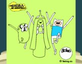 Jake, Princesa Bubblegum e Finn