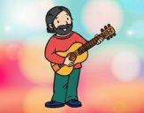Desenho Cantautor pintado por ImShampoo