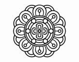 Mandala flor criativo