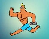 Socorrista running
