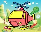 Um Helicoptero
