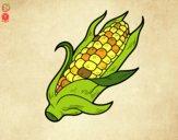 Desenho Um sabugo de milho pintado por Gabi_OPO