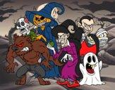Monstro do Halloween