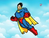 Superman a voar