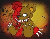 Desenho Ursito monstruoso pintado por pintor0018
