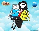 Voando com Marceline