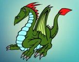 Dragão elegante