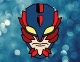 Máscara de super vilão