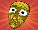 Desenho Máscara de surpresa pintado por LadyMcm
