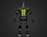 Robô de volta