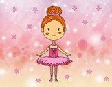 Desenho Um dançarino de bailado pintado por ANALUMA