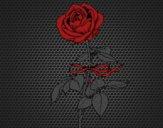 Desenho Uma rosa pintado por DiigoCrazz