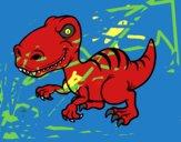 Dinossauro velociraptor