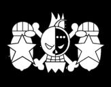 Dibujo de Bandeira de Franky
