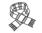 Dibujo de Cachecol de listras