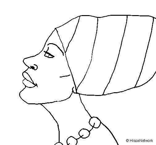 Figuras Africanas Para Imprimir Desenhos Para Colorir Com