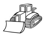 Desenho de Caminhão pá para colorear