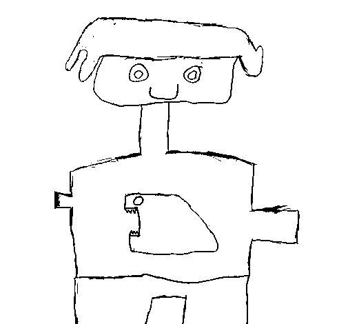 Desenho de Camisa para crianças para Colorir