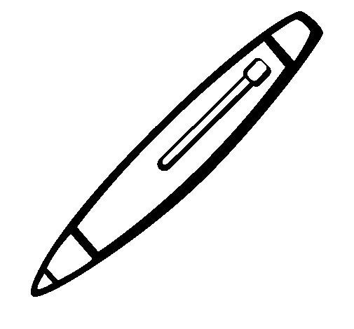 Desenho de Caneta para Colorir
